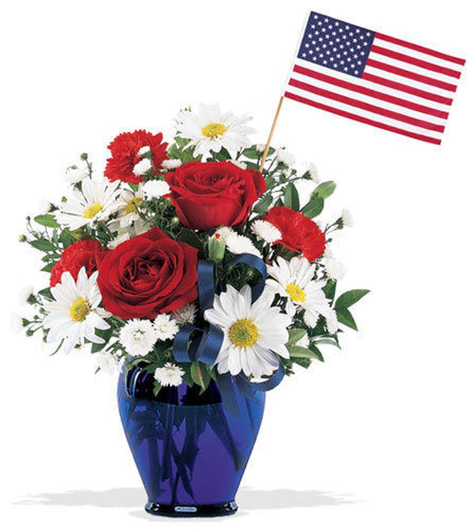 Freedom Bouquet Fort Worth Patriotic Flowers