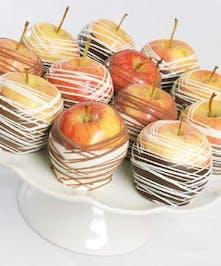 12 Chocolate Dipped Washington Apples