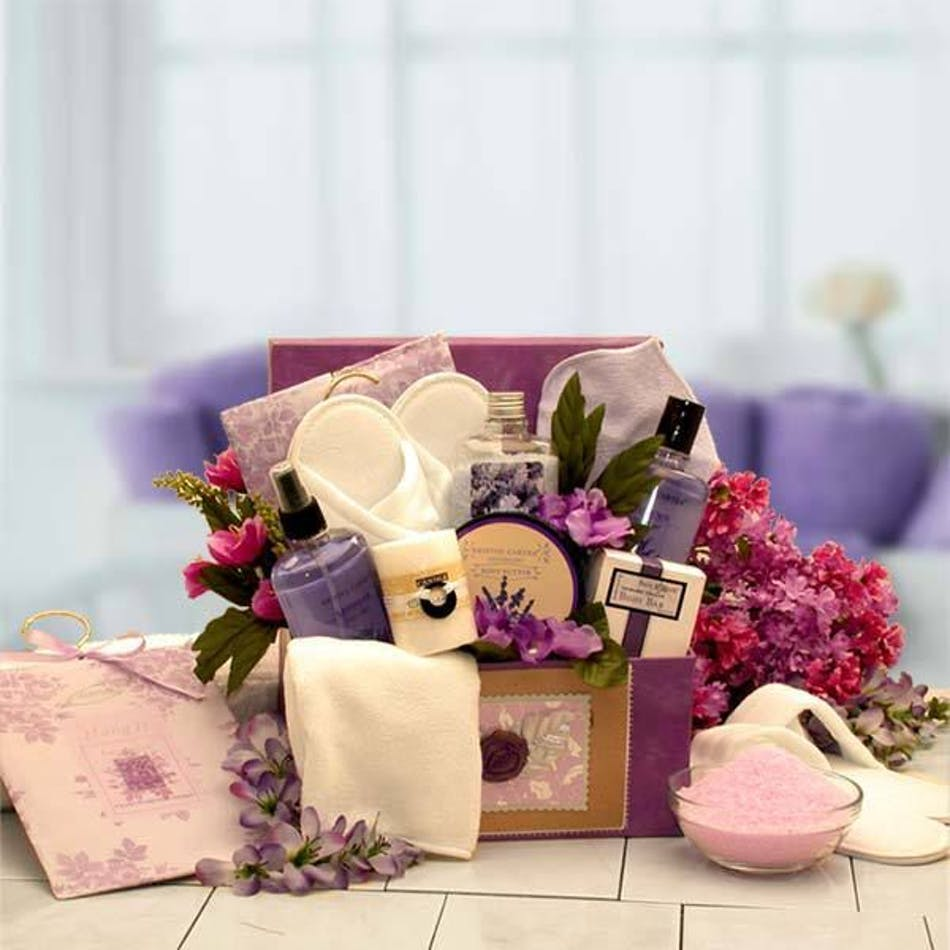 A wonderfully relaxing assortment of spa products to help rejuvenate your mind, body and soul.