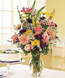 Roses, gerbers and daisies.