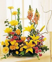 A fragrant and colorful display.