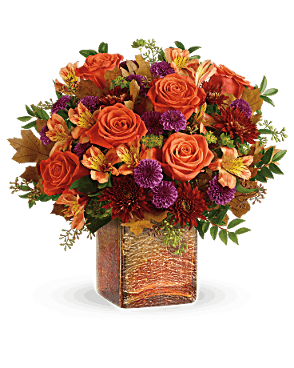 Golden Amber Fall Flower Bouquet By Bices Florist Fort Worth