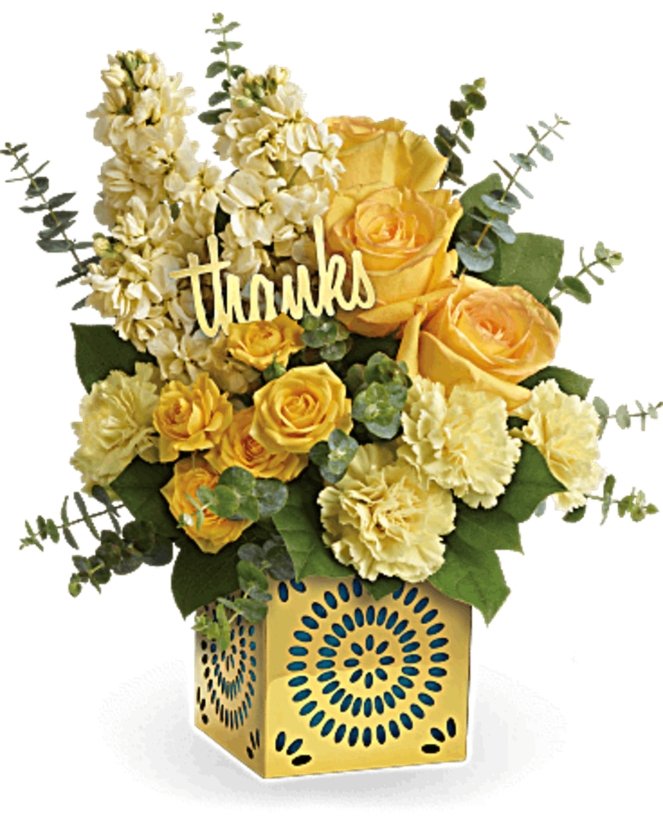 Shimmer Of Thanks Bices Flowers Arlington Tx